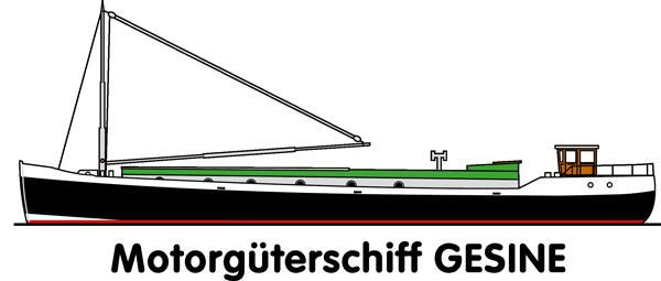 Motorgüterschiff Gesine