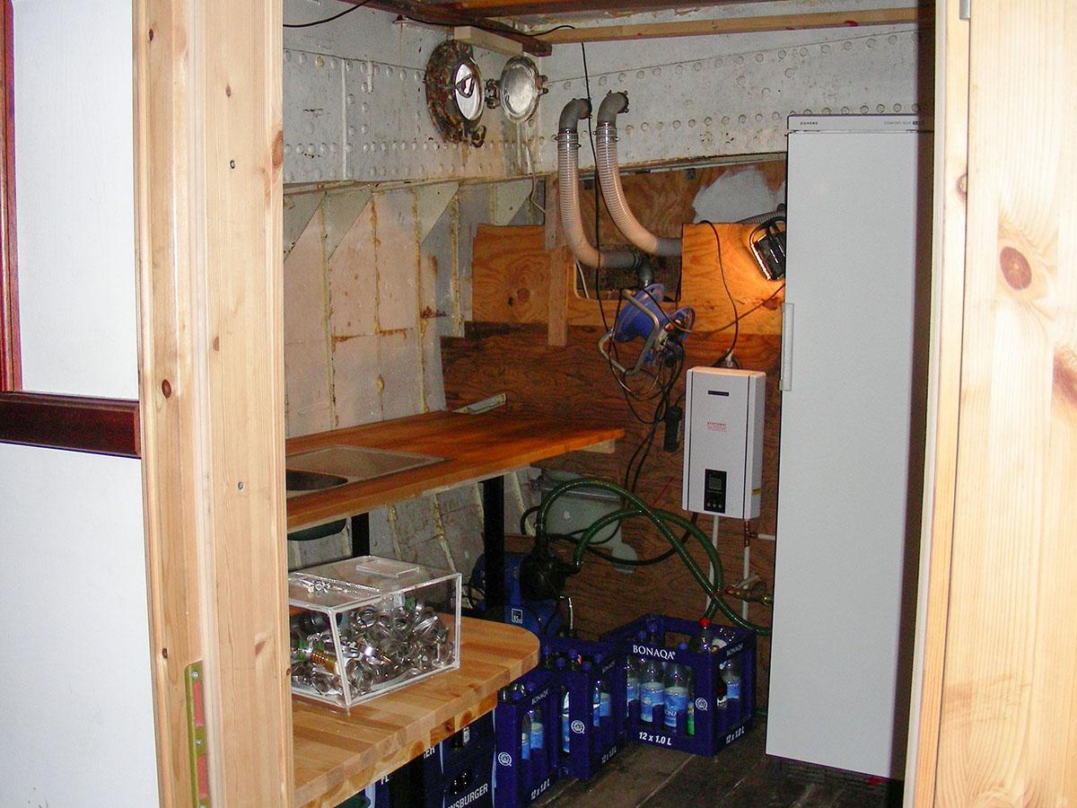 So sah die Küche früher aus
